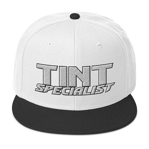 White Black Otto Snapback Hat