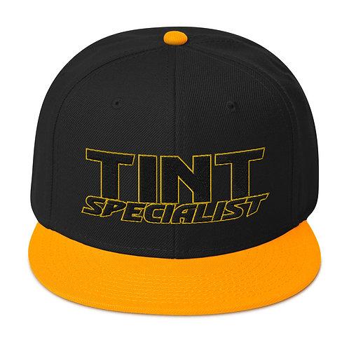Black Yellow Otto Snapback Hat