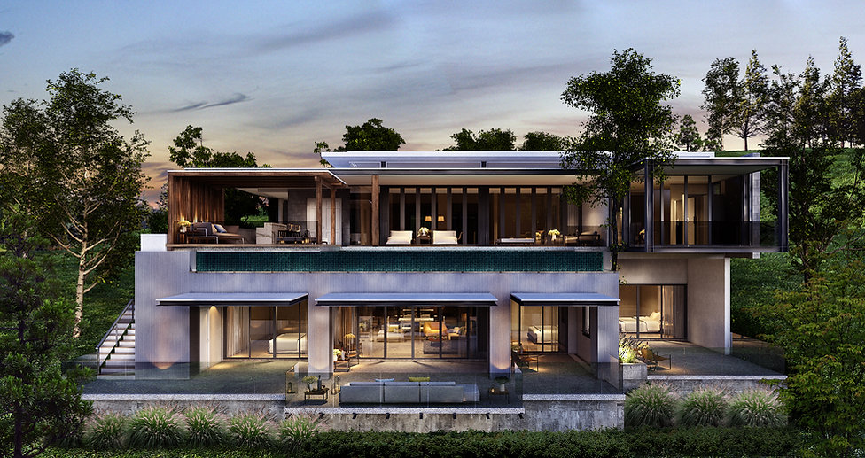 Large Double Story | Manick Hillside Phuket | ภูเก็ต
