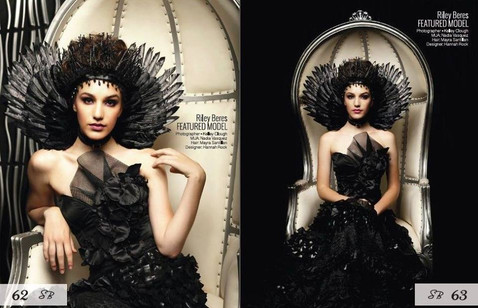 Published in Surreal Beauty Magazine