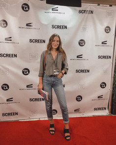 On the red carpet for NewFilmmakers LA