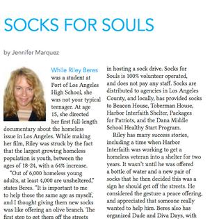 Interview in San Pedro Today magazine