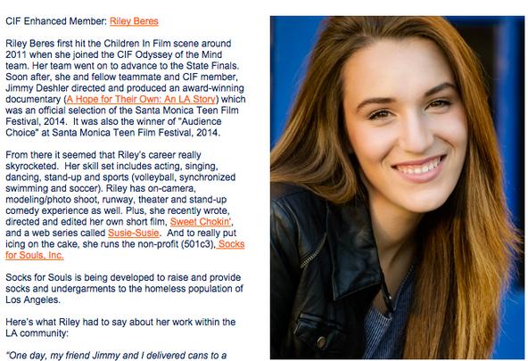 Actress Spotlight