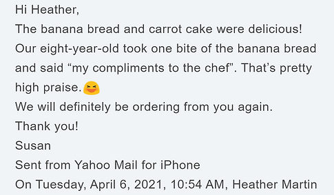 Review of carrot cake and banana bread.p