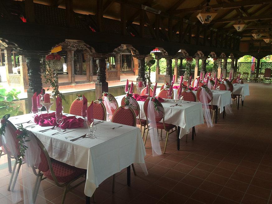 Wunschlocation Nepal-Tempel Catering
