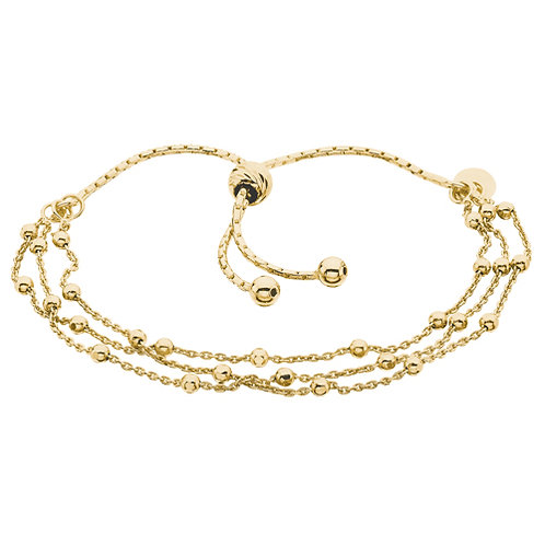 three strand bolo Bracelet