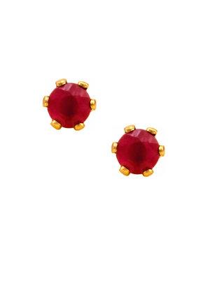 Stud Main Stone Earrings