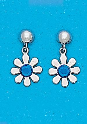 September Daisy Dangle Earrings