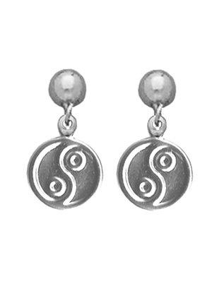 Yin/Yang Dangle Earrings