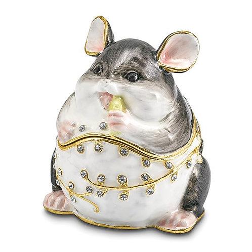 UNCLE JOE Chubby Mouse Trinket Box