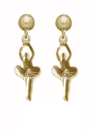Ballerina Dangle Earrings