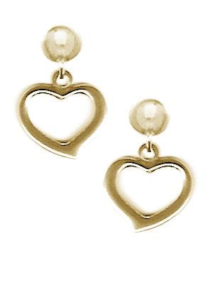 HeartDangle Earrings