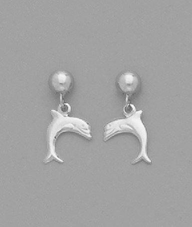 Dolphin Dangle Earrings