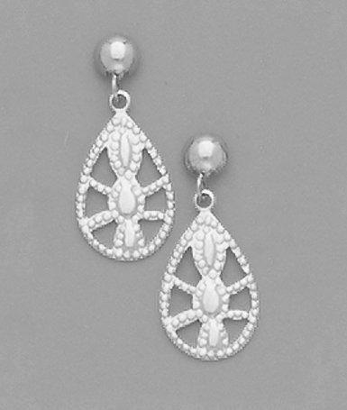 Small Filligree Earrings