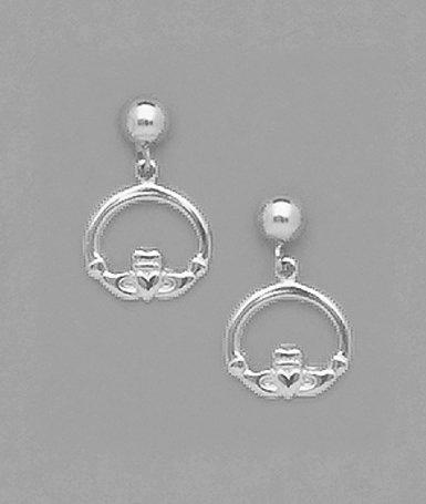 Claddaugh Dangle Earrings