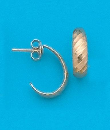 J Hoop Earrings