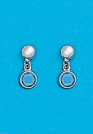 March Dangle Earrings