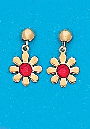July Daisy Dangle Earrings