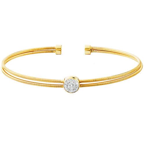 CZ cuff Bracelet