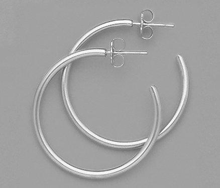"""1"""" Hoop Earrings"""