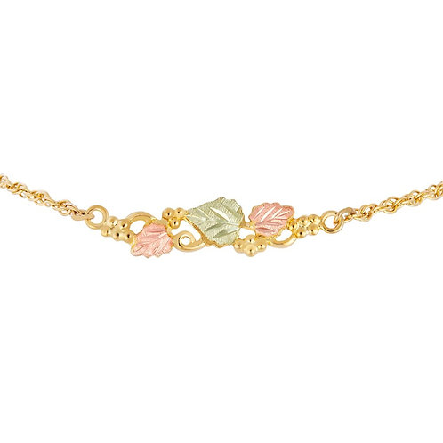 Black Hills Gold Rope Chain Bracelet