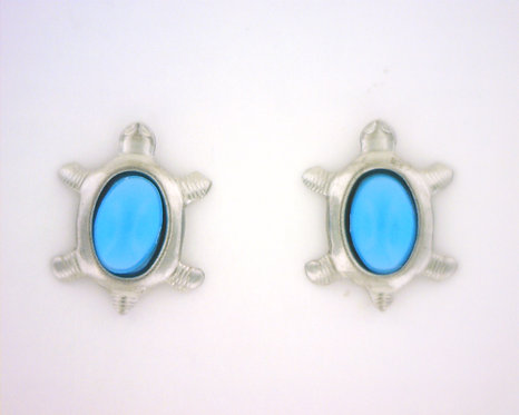 Turquoise Turtle Earrings