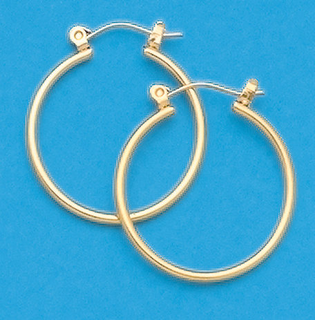 """5/8"""" Hoop Earrings"""