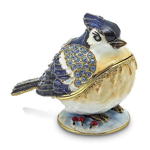 ADMIRAL Blue Jay Trinket Box