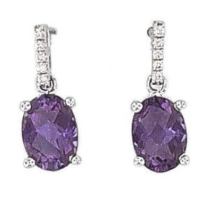 Dangle\0A\Main Stone Earrings