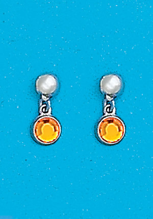 November Dangle Earrings