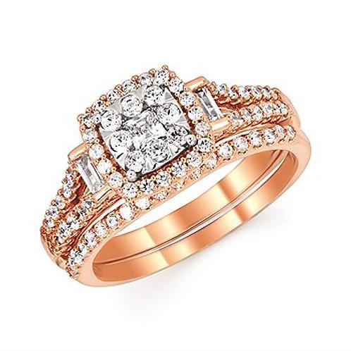 Wedding SetMain Stone Ring