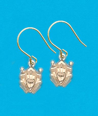 Frog Dangle Earrings