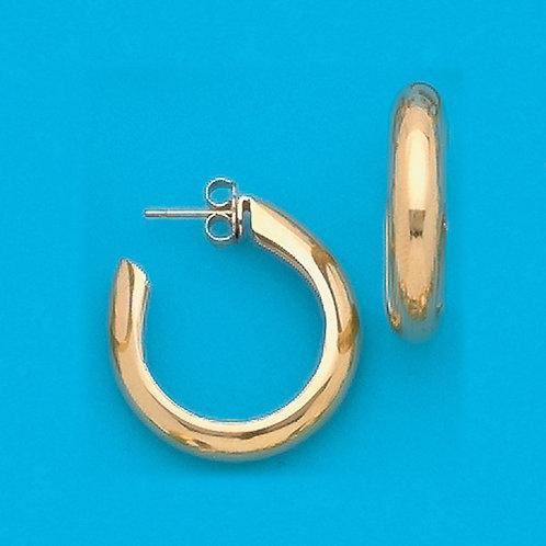 """7/8"""" Hoop Earrings"""