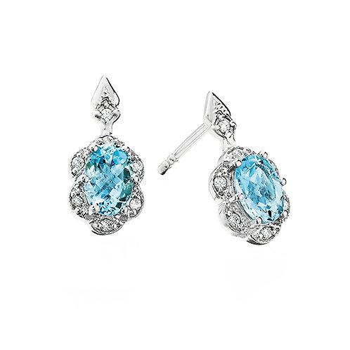 Floral Halo Earrings