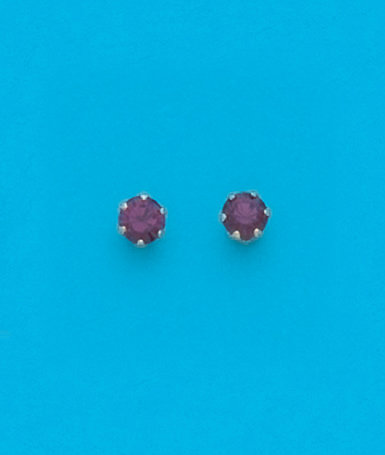 February Stud Earrings