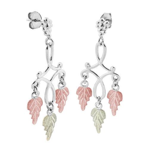 Black Hills Gold chandelier Earrings