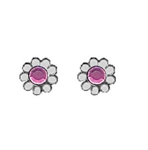 February Daisy Earrings