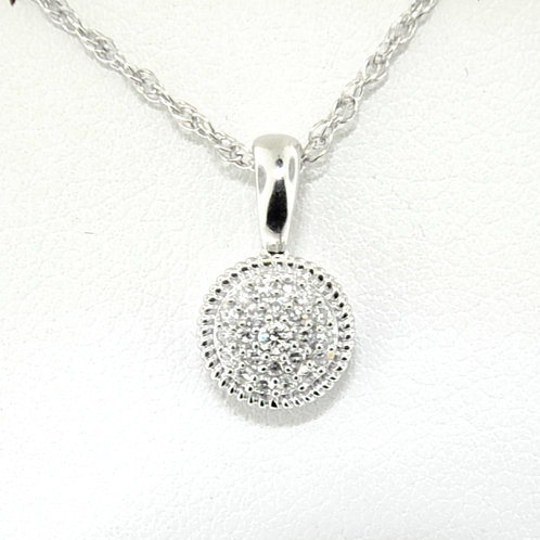Solitaire Style Pendant