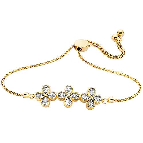 Quattrefoil Bolo\0A\Main Stone Bracelet
