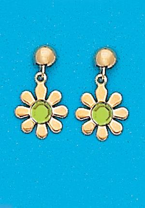 August Daisy Dangle Earrings