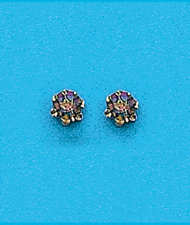 Mystic Fire Stud Earrings