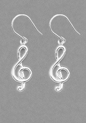 Trele Clef Earrings