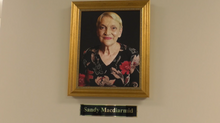 Classroom at Cypress Grove Nature Park dedicated in honor of Sandy MacDiarmid