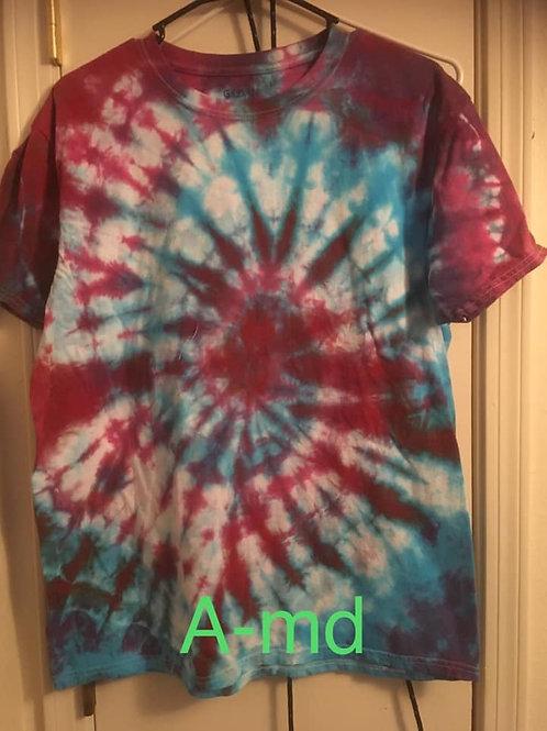 Tie Dye T-Shirt(s) - Size Medium