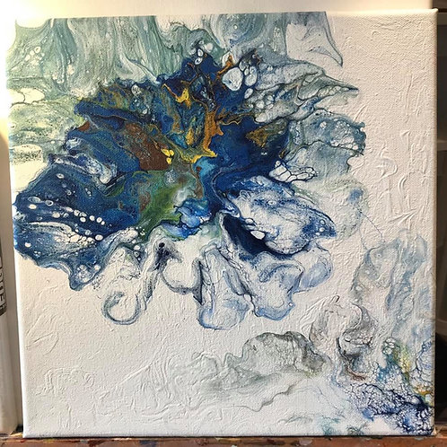 Dutch Pour Canvas 12X12