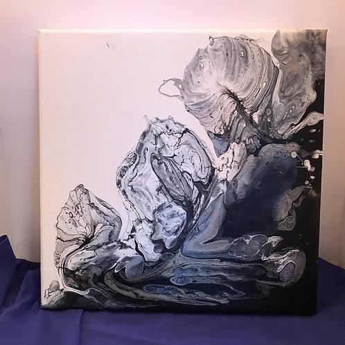 10X10 Dutch Pour Canvas