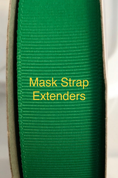 Mask Strap Extender-Hot Green