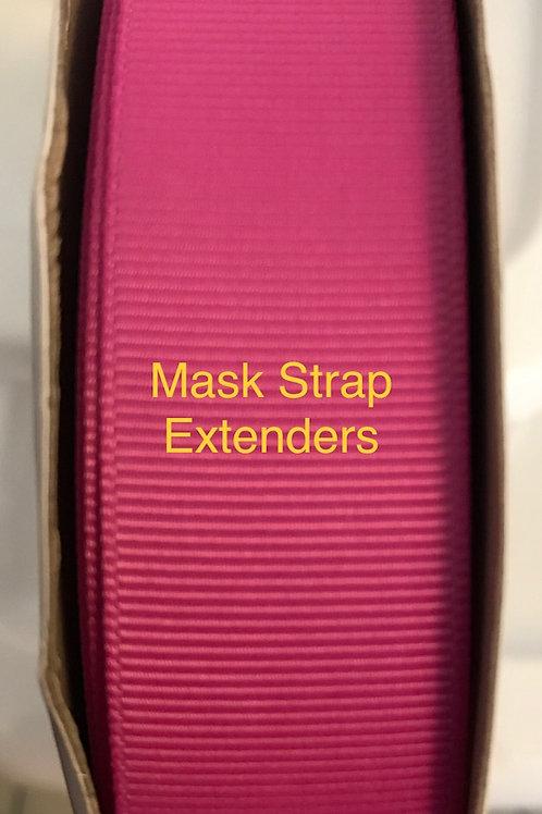 Mask Strap Extender-Hot Pink