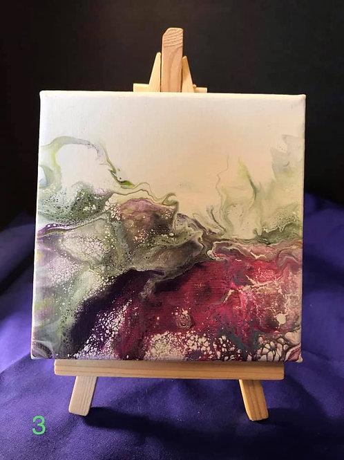 Dutch Pour 4X4 Canvas WITHOUT EASEL