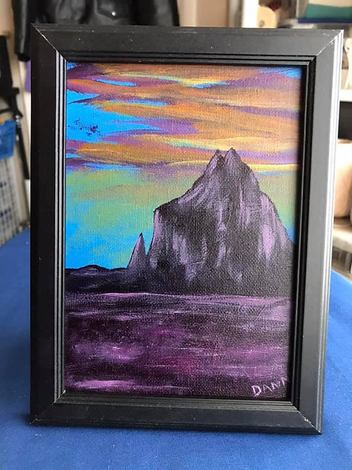 Small Canvas - 5X7 - Framed